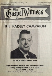 Paisley in the Gospel Witness