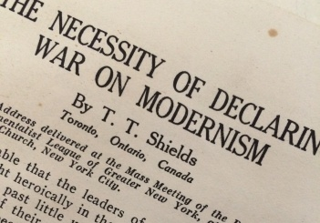 War on Modernism