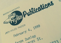 Hyles Publications